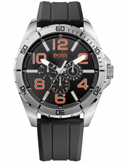 Часы BOSS ORANGE 1512945 Herren Multif. schwarz silber orange 48 mm