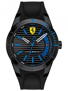 Часы Scuderia Ferrari 0830427 Red-Rev T 44mm 3ATM