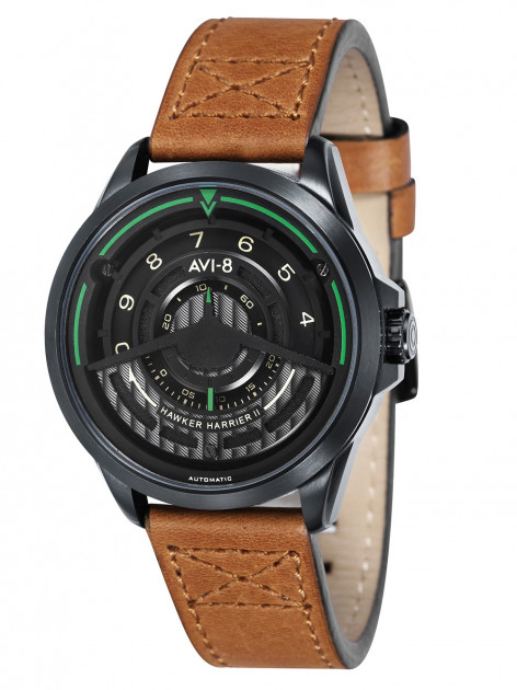 Часы AVI-8 AV-4047-04 Hawker Harrier II Automatik Herren 44mm 5ATM