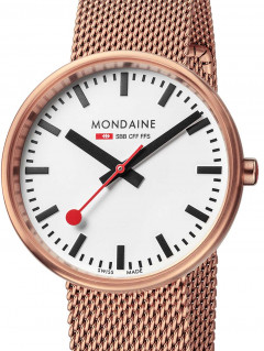 Часы Mondaine A763.30362.22SBM SBB Mini-Giant Damen rosй 35mm 3ATM