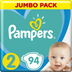 Подгузники Pampers Active Baby Размер 2 (Mini) 4-8 кг 94 шт (8001090948137)