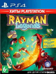 Игра Rayman Legends - Хиты PlayStation для PS4 (Blu-ray диск, Russian version)