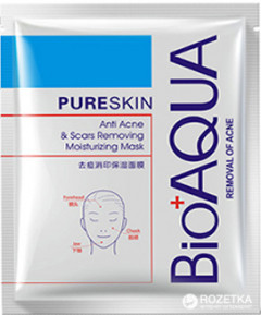 Маска Bioaqua Pure Skin Acne & Rejuvenation Moisturizing Mask 30 г (6947790780733)