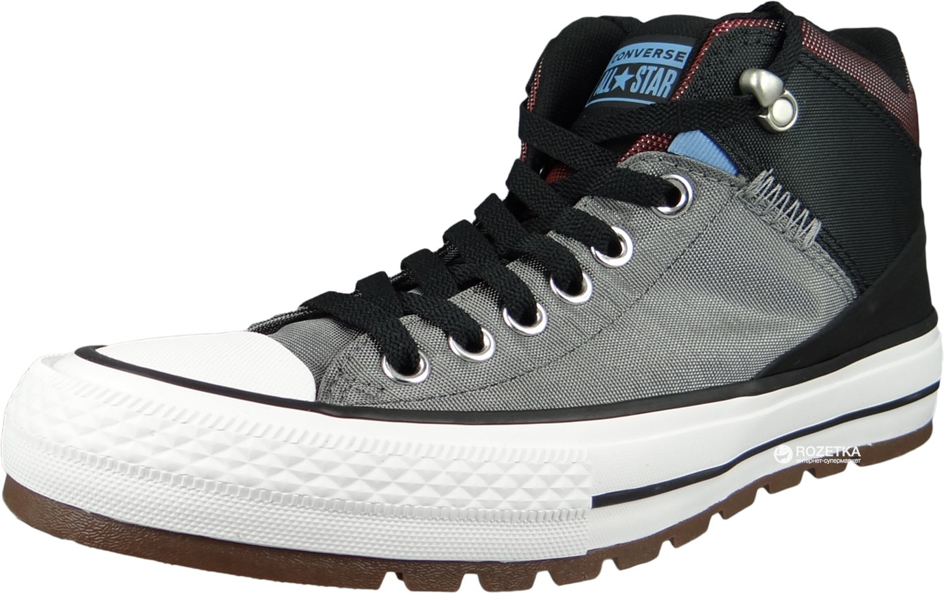 fdda856883ef Кеды Converse Chuck Taylor All Star Street Boot 161470C 41 (7.5) 26 см  Черные