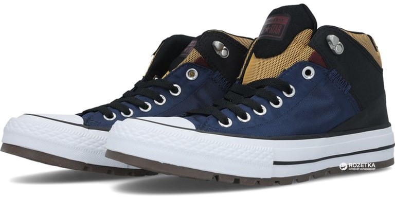 Кеды Converse Chuck Taylor All Star Street Boot 161471C 43 (9.5) 28 см Синие 2b663c52bc5