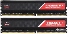 Оперативная память AMD DDR4-2400 8192MB PC4-19200 (Kit of 2x4096) R7 Performance Series (R748G2400U1K)
