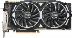 MSI PCI-Ex GeForce GTX 1080 Ti Armor 11GB GDDR5X (352bit) (1480/11016) (DVI, 2 x HDMI, 2 x DisplayPort) (MSI GeForce GTX 1080 TI ARMO)