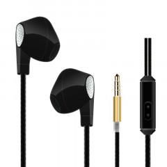 Наушники HeyDr W-2 Wired Earphones Black