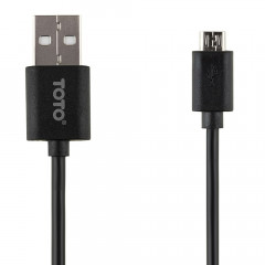 Кабель TOTO TKG-01 Charging USB cable microUSB 0.26m Black