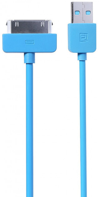 Кабель Remax Light Cable For iPhone 4 1m Blue