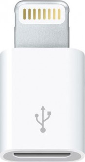 Переходник Apple Lightning to micro USB (MD820ZM/A)
