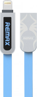 Кабель Remax Armor Series 2 in 1 cable RC-067t Blue
