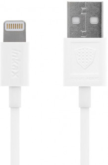 Кабель INKAX CK-13 Lightning cable 1m White