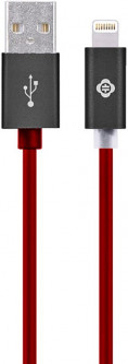 Кабель TOTU Glory Series-A Version Lightning Cable 1m Red