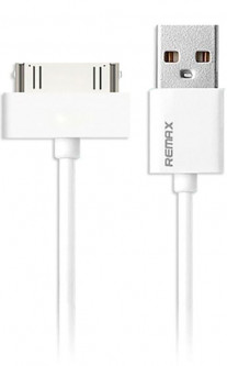 Кабель Remax Fast Charging Cable ip4 White