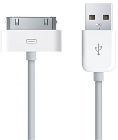 Кабель GOLF GC-01a High Speed iPhone4 cable 0.9m White