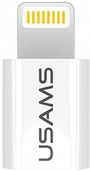 Переходник Usams US-SJ014 USAMS iPhone 6S- Micro Adapter White
