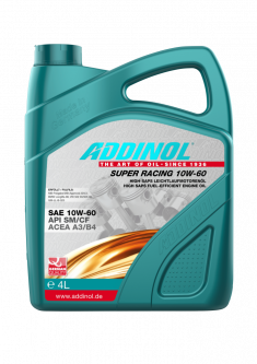 Моторна олива Addinol SUPER RACING 10W-60 SAE 10W-60 4 літри