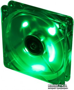 Кулер Titan TFD-12025GT12Z/LD3 LED Green