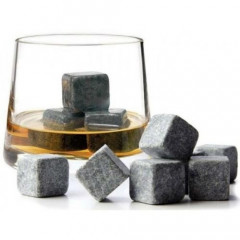 Камни для виски Whiskey Stones WS 9 шт (2000992388474)
