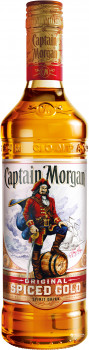 Ромовий напій Captain Morgan Spiced Gold 1 л 35% (5000299223055)