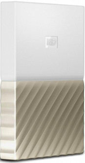 Жесткий диск Western Digital My Passport Ultra 3000GB White/Gold (WDBFKT0030BGD-WESN)