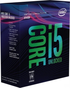 Процессор Intel Core i5-8600K Box (BX80684I58600K)