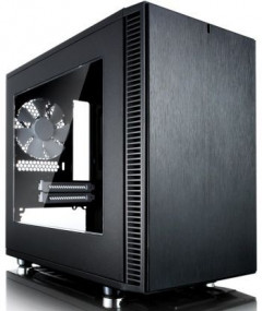 Корпус Fractal Design Define Nano S - Window Black (FD-CA-DEF-NANO-S-BK-W)