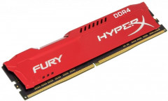 Оперативная память Kingston DDR4 8192Mb HyperX Fury Red (HX429C17FR2/8)