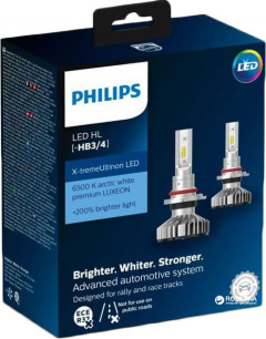 Автолампы Philips HB3/HB4 X-treme Ultinon Led (11005XUWX2)