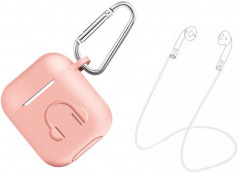 Чехол Gorilla Pzoz для Apple AirPods 3 в 1 Pink (PP-8716)