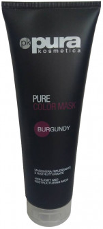 Тонирующая маска Pura Kosmetica Pure Color Mask Burgundy 250 мл (8021694002844)