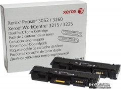 Картридж Xerox Phaser P3052/3260/WC3215/3225 Dual Pack (106R02782) Black