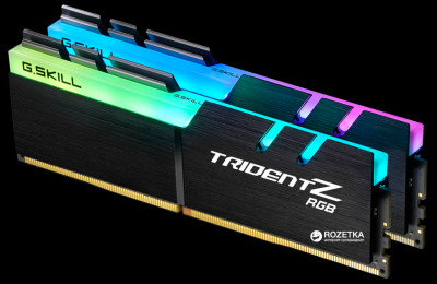 Оперативна пам'ять G.Skill DDR4-3200 32768MB PC4-25600 (Kit of 2x16384) Trident Z RGB (F4-3200C16D-32GTZR)