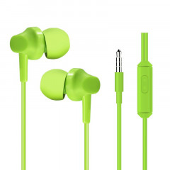 Наушники HeyDr H-97 Wired Earphones Green (ljfi)