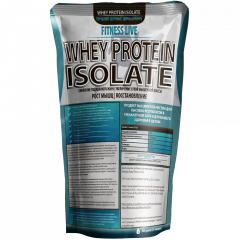 Протеин Fitness Live Whey Protein Isolate 500 г Капучино (5502945732555)