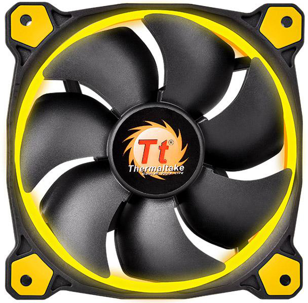 Кулер Thermaltake Riing 12 Yellow LED (CL-F038-PL12YL-A)
