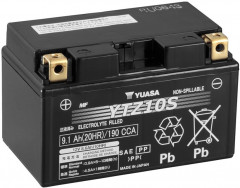 Мото аккумулятор Yuasa 12V 9.1Ah High Performance MF VRLA Battery YTZ10S (GEL) (YTZ10S)