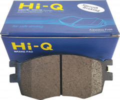 Колодки тормозные задние Sangsin Brake HI-Q Brake Pad Hyundai Accent (06->10), KIA Rio (05->11) (SP1186)