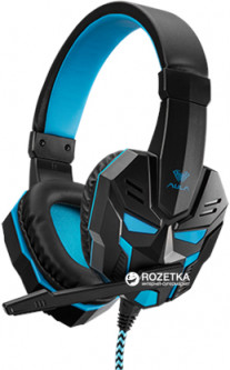 Наушники Aula Prime Basic Gaming Headset Black-Blue (6948391232768) (HSLB01B180401903) - Уценка