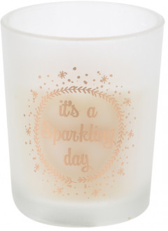 Свеча Home&Styling Collection Sparkling day 5x5x6 см (ACC004350_sparkling)