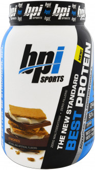 Протеин BPI Best Protein 986 г S'mores (811213026943)