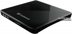 Transcend DVD±RW TS8XDVDS-K External USB 2.0 Black Retail