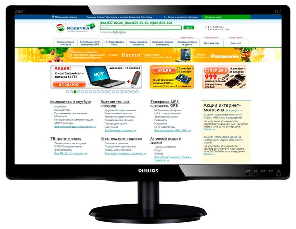 Drivers Philips 236V4LAB/00 LCD Monitor