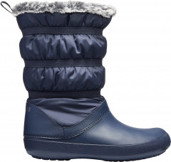 Сапоги Crocs Crocband Winter Boot W 205314-410-W5 34-35 22.1 см Синие (191448218123)