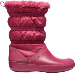 Сапоги Crocs Crocband Winter Boot W 205314-6D1-W6 36-37 22.9 см Красные (191448218215)