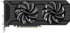 PNY PCI-Ex GeForce GTX 1070 Twin Fan 8GB GDDR5 (256bit) (1506/8000) (DVI, HDMI, 3 x DisplayPort) (91009192-NW-GTX1070XGOBB)
