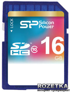 Silicon Power SDHC 16GB Class 10 (SP016GBSDH010V10)