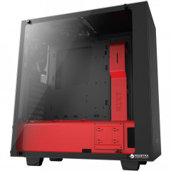 Корпус NZXT S340 Elite Black-Red (CA-S340W-B4)