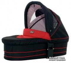 Твердая люлька для коляски ABC Design ZOOM Cherry-Black (9907/214)